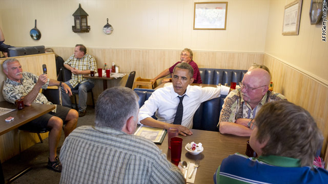 Obama continues conversation with veterans