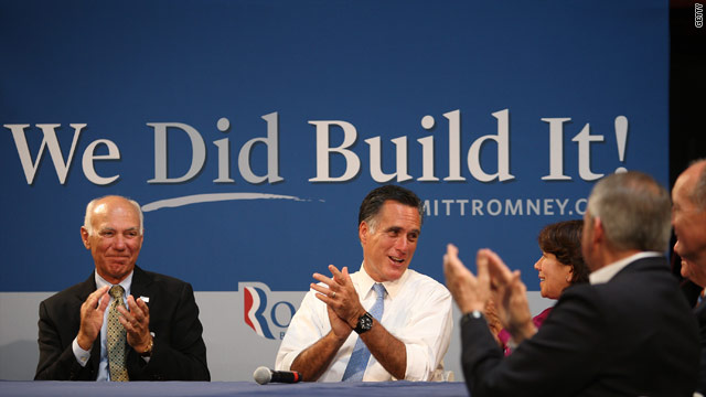 Romney camp, Republicans continue to hammer on 'build that'