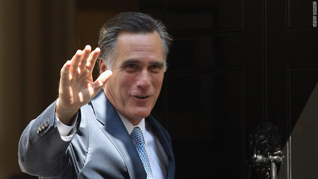 Romney gives Barbara Bush Texas-sized accolades