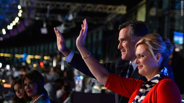 PHOTO: Romneys at London Olympic Opening Ceremony