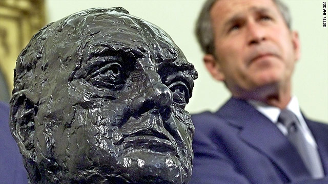 Busted: Two statues amount to one Churchill bust of a controversy