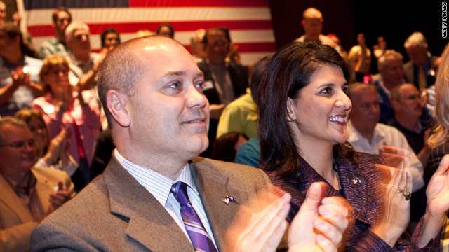Gov. Haley's husband to deploy to Afghanistan