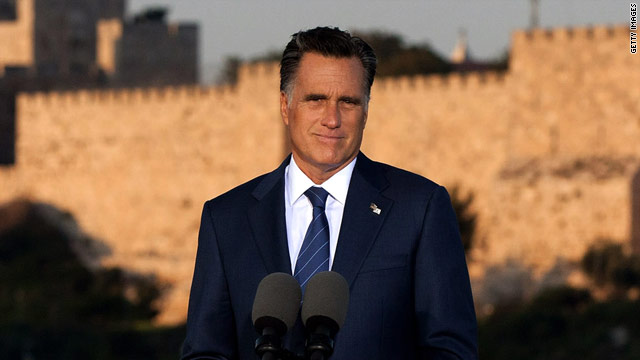 Palestinians protest Romney statements as 'racist'