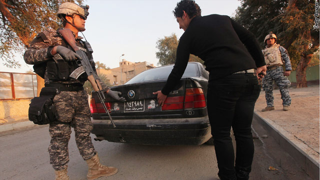 "Report finds ""waste"" in Iraqi police training"
