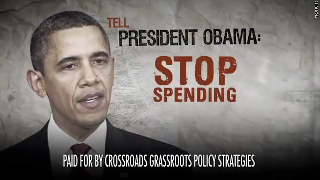 Crossroads blasts Obama over economy in new ad