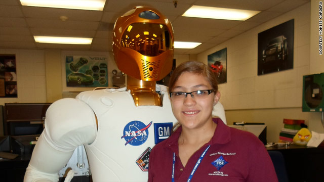 Space school, days 5 & 6: the end of week one, Ad Astra, and Robonaut