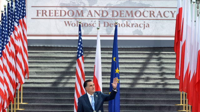 Romney announces Polish American group
