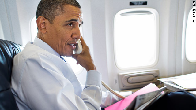 Obama's telephone diplomacy on Gaza
