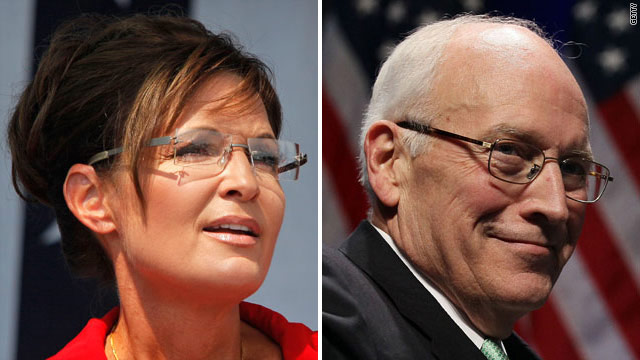 Palin to Cheney: Careful where you aim