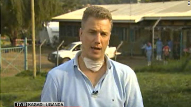 David McKenzie reports from Ugandan hospital treating Ebola patients