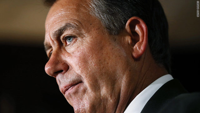 Boehner lays down a marker on taxes