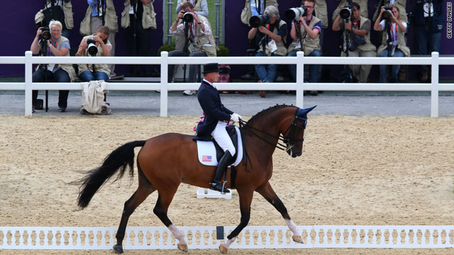 Horserace turns (almost) literal in London