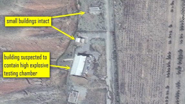 Activity spotted at suspected Iranian nuclear test facility, analyst says