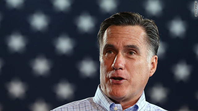 Romney pins 'hammer blow' unemployment rise on Obama