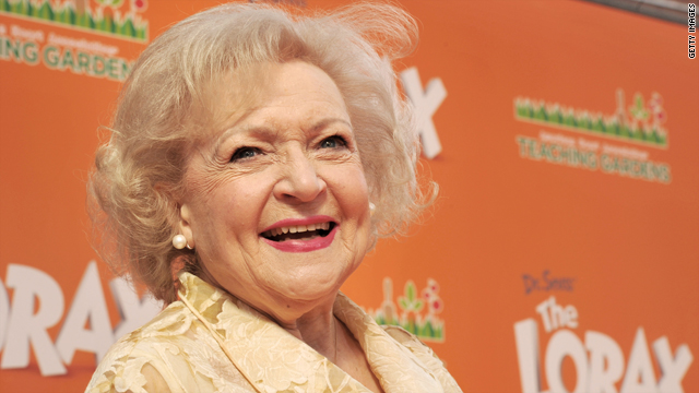 Who is Betty White's crush?
