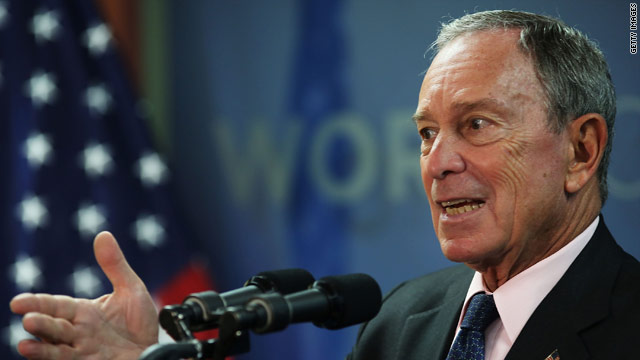 Bloomberg blasts 'deafening silence' on guns from Obama and Romney
