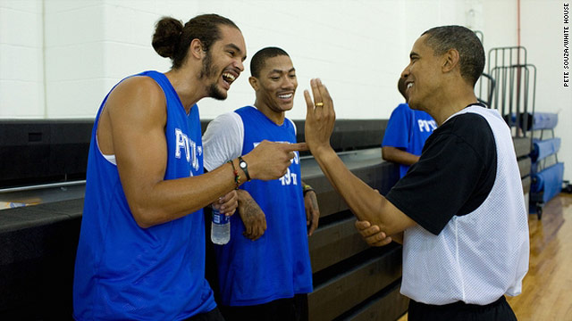 New 'Obama Classic' fundraising contest: Play with NBA stars, dine with Michael Jordan