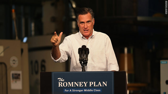 Romney tells supporters how dad got free McDonald's for life
