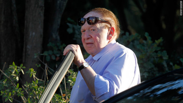 Adelson's $60 million demand