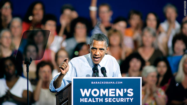 Obama focuses on women's issues in Denver