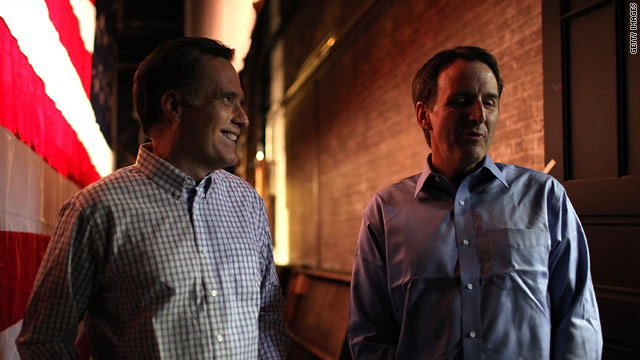 Pawlenty in Michigan for Romney: &#039;We&#039;ll know soon enough&#039; about V.P.