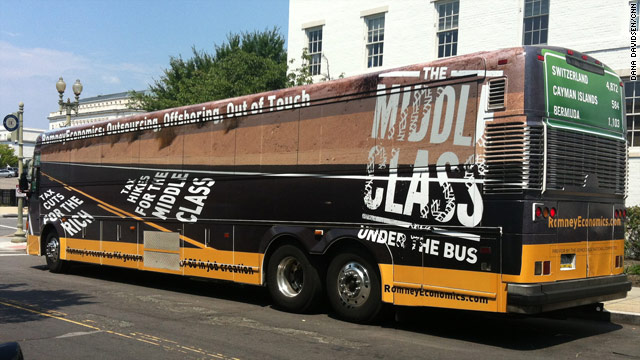 DNC announces new bus tour to stalk Romney