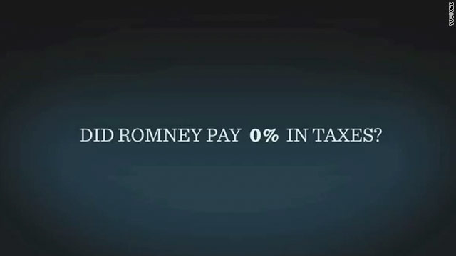Obama ad hits Romney for alleged tax scandal