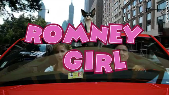 Another viral video: 'Romney Girl' goes for a 'fantastic' ride