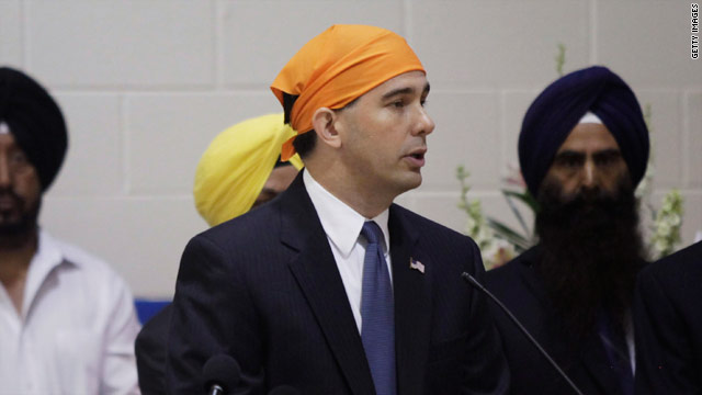 Walker says Sikhs showed love in response to hate