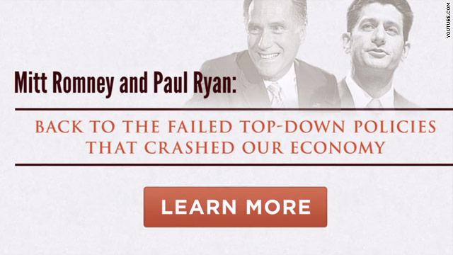 Obama campaign defines Romney/Ryan as 'The Go Back Team'