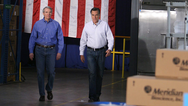 Romney's sparring partner offers glimpse into GOP debate prep