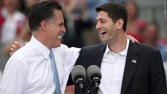 Romney/Ryan to campaign in Florida together Friday