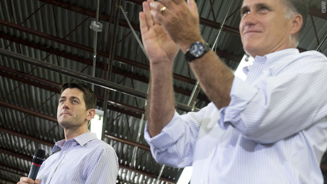 Romney, Ryan get warm reception for first joint town hall