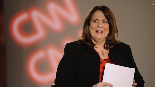 CNN's Crowley first woman in two decades to moderate presidential debate
