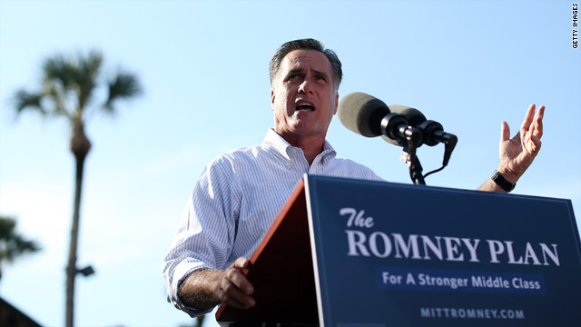 Romney on stride in Florida