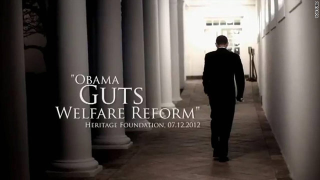 New Romney TV ad second straight to attack Obama on welfare
