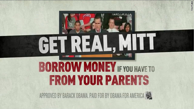 Obama ad: 'Get real, Mitt'
