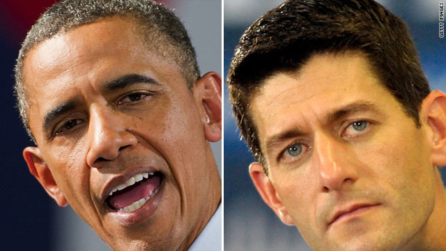 Ryan blames Obama for scheduled defense cuts