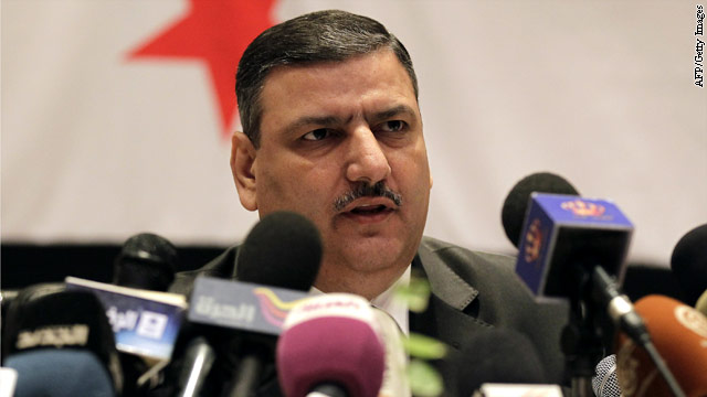 Defection perk: U.S. lifts sanctions on former Syrian prime minister