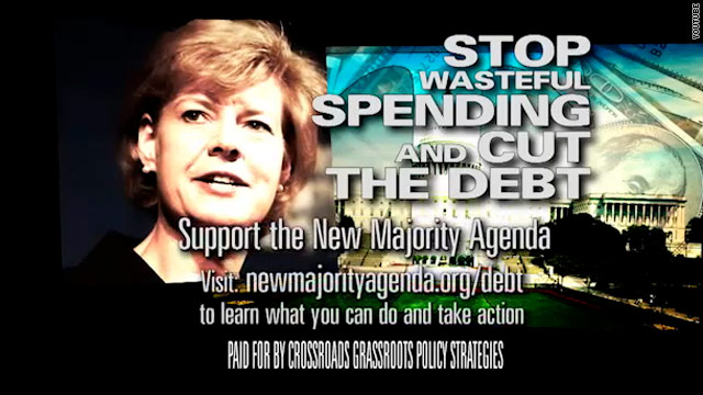 Crossroads releases new wave of ads against Democratic Senate candidates
