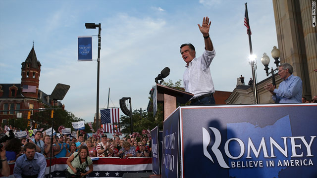 Romney repeats his claim of hatred in Obama's campaign
