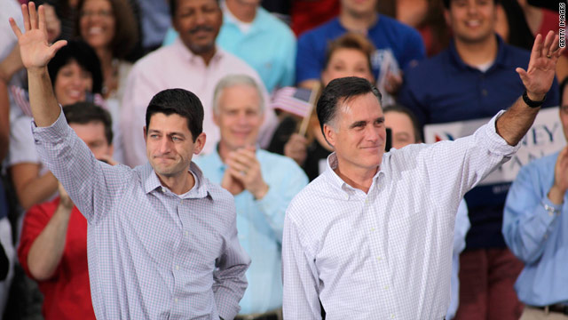 Romney campaign touts fundraising after Ryan announcement