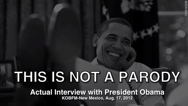 Republicans mock Obama over radio interview