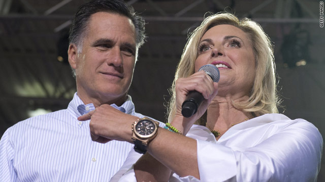 Ann Romney to rally while Obama preps for debate across town