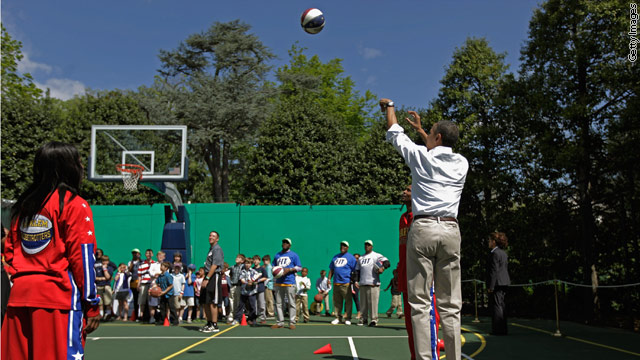 Presidential &#039;shoot around&#039; at Obama Classic to raise $3 million