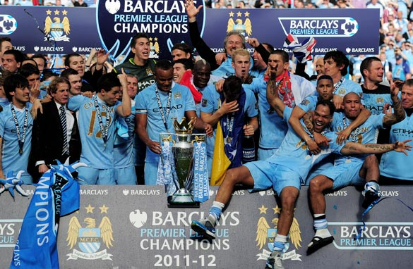 Manchester City's owners have led the way in offering bigger and bigger salaries to players. (Getty Images)