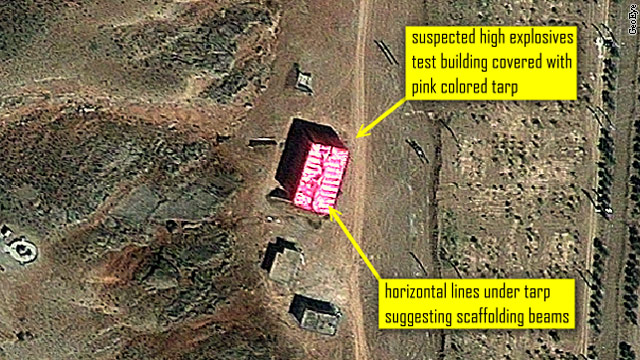 Irans expanding nuclear program: the pink tarp that spells trouble