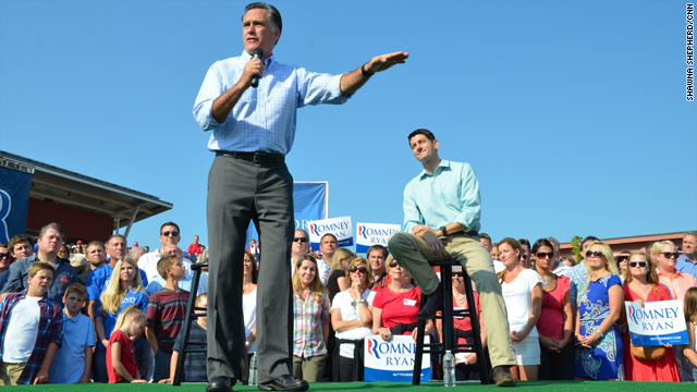 Romney promises better leadership on employment