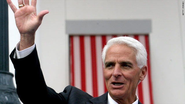 Poll: Florida&#039;s Crist at 50% in possible comeback