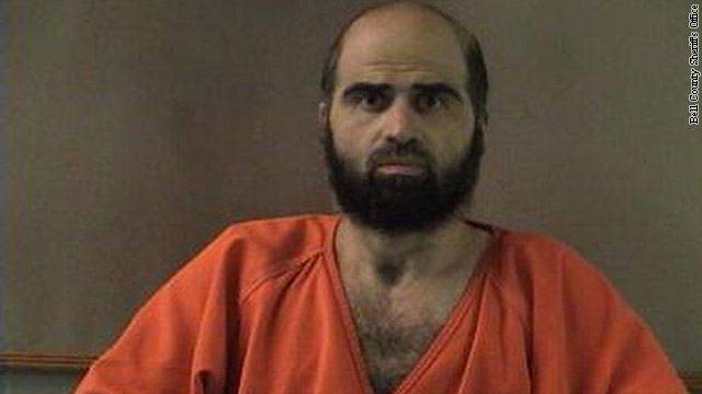 Judge orders Maj. Nidal Hasan forcibly shaved for court martial